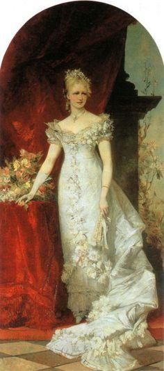 Crown Princess Stephanie, Hans Makart, 1881
