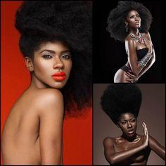 Kamit beauty ☥✨  Kamit model : Danielle Desiree, IG @danielledesireexoxo