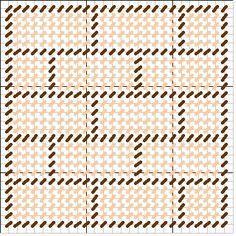 Brick Pattern stitch