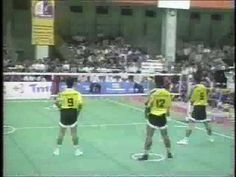 sepak takraw: essentially, volleyball with the same body restrictions as soccer. Oh my word, this is intense!