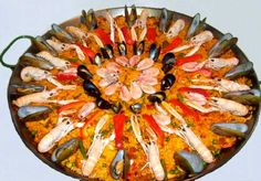 #SeafoodPaella comes in the Top 50 World's Best List according to many surveys. Guess what? We have it on our @kaytahring Menu!