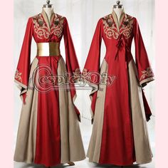 Custom Made Game of Thrones Queen Cersei Lannister Red Exclusive Dress Costume Adult Women Dance Party Cosplay Costume-in Clothing from Novelty & Special Use on Aliexpress.com | Alibaba Group