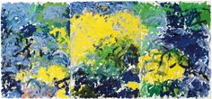Joan Mitchell, La Grande Vallée XIV (For a Little While), 1983. Oil on canvas,  (280 x 600 cm). Centre Pompidou, Paris. - See more at: http://joanmitchellfoundation.org/work/artwork/cat/paintings/late-career-1980-1992/la-grande-vallee-xiv-for-a-little-while#sthash.yQHpcrCo.dpuf