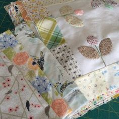 Aiming for a quilt top from these on this dull Easter Saturday. Dog walk first…