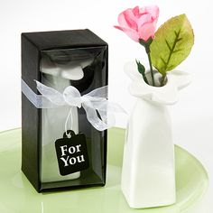 Wedding Decorations and Table Decor - Cute Ceramic Bud Vase. As low as $1.76 each!