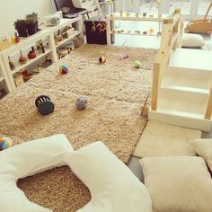 Montessori Baby Groups - I Can Do It Montessori Infant Room Daycare, Infant Toddler Classroom, Toddler Daycare, Home Daycare, Daycare Setup, Daycare Design, Daycare Spaces, Childcare Rooms, Montessori Classroom