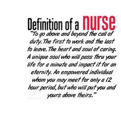 Being a Nurse