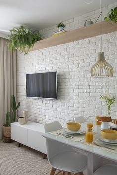 Décor do dia: sala de jantar com decoração minimalista e plantas - Casa Vogue | Décor do dia