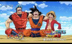 Toriko x Dragon Ball x One Piece by CondorianoAno.deviantart.com on @deviantART Best Crossover, Anime Crossover, Crossover Episodes, Dragon Ball Z, Dragons Tumblr, Kai, Otaku, Gifs, Samurai Armor