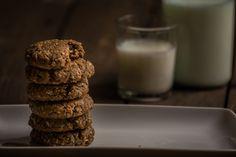 Gluten-free and dairy-free penut butter cookies. http://www.vespresso.cooking/en/2015/12/oatmeal-peanut-butter-cookies/