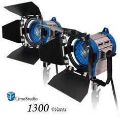 LimoStudio 1300 Watt Photography Photo Video Studio, Film...