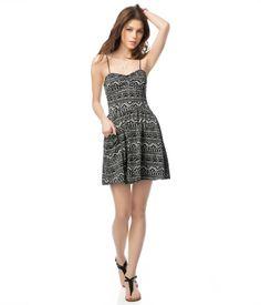 Geo Bustier Dress