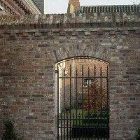 antieke poort Achterhuis
