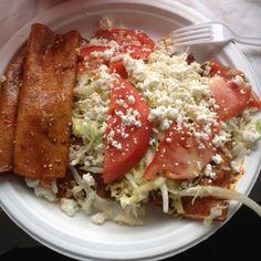 Enchiladas estilo Michoacán