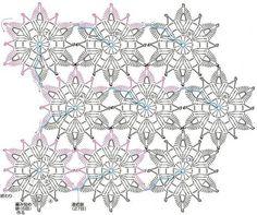 Crochet-mía: medio Vestidos