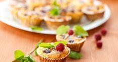 30 perces túrós, gyümölcsös muffin: csak összekevered és megsütöd