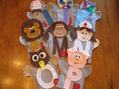 Alphabet set Puppets