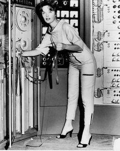 Woman, Computer