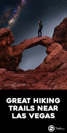 Best Trails near Las Vegas, Nevada Vacationing in Vegas? There's more to do than just gamble! Check out the spectacular views these trails near have to offer. Las Vegas Hiking, Las Vegas Trip, Nevada, Vegas Vacation, Travel Vegas, Valley Of Fire, Mountain Hiking, Lake George, Best Hikes
