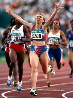 Russia's Svetlana Masterkova won both the 800m and the 1500m at the 1996 Summer Olympics