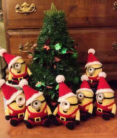 Ho ho ho! It's almost one of the happiest times of the year, and little Minion is getting in on the action by dressing up as none other than Santa Claus!