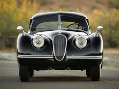 A stunning vintage Jaguar will go under the gavel at the RM Auction in Monterey this August. This 1954 Jaguar Roadster has been restored to prime Vintage Cars, Antique Cars, Jaguar Xk120, Most Expensive Car, Car In The World, Automotive Design, Sport Cars, Cars And Motorcycles, Hot Wheels
