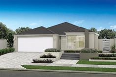 front garden designs perth - Google Search