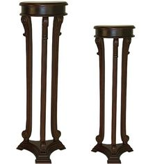Have to have it. Chopin Plant Stands - 2 Piece Set $579.99
