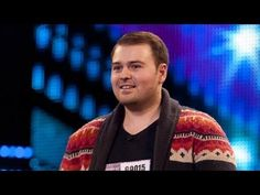 Tony Roberts Sir Duke - Britain's Got Talent 2012 audition - Internation...
