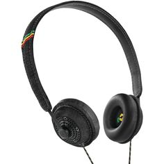 Amazon.com: House of Marley EM-JH041-MI Harambe Midnight On-Ear Headphones: Electronics
