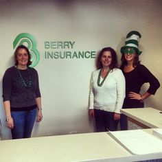 We are celebrating St. Patrick's Day in the office today. We love holiday's that are all about the #green! #Massachusetts #InsuranceAgent