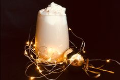 egg nog, lchf thermomix