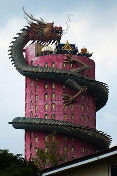 Dragon Temple, Wat Sampran,Thailand: