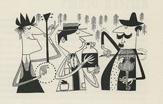 "I just picked up a vintage copy of ""The First Book of Jazz"" by Langston Hughes (1955). The illustrations by Cliff Roberts are incredible. The style reminds me of one of my favorite jazz…"
