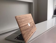 The MacBook Wood Case is a cinch to apply and will leave no residue from the strong adhesive when it's removed.