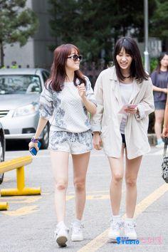Girl's Day MinAh and YuRa