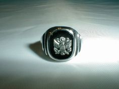 vintage balfour sterling silver military by qualityvintagejewels