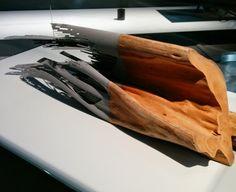 Jeu de matière par le Peugeot Design Lab  Expo Hypervital