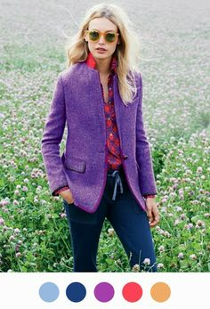 If there's one person who understands color, It's J.Crew's Jenna Lyons.