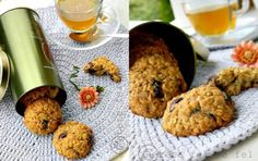 Azi va propun niste biscuiti cu fulgi de ovaz deliciosi ,potriviti pentru micul dejun … Yummy Food, Yummy Recipes, Biscuits, Deserts, Gluten, Cookies, Cake, Sweets, Crack Crackers