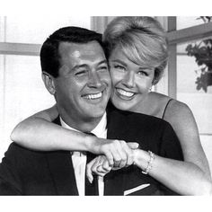 Rock Hudson and Doris Day <3