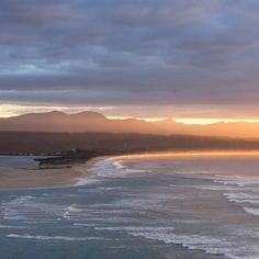Enter sun, stage right. Plettenberg Bay, South Africa