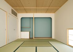 Japanese house by MAMM Design features long narrow mezzanine