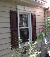 Biddle Bits: How to paint vinyl shutters