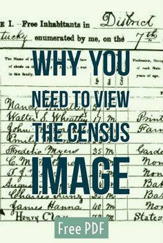 Free Download: Why You Need to View Census Images Not Just Summaries http://ancestornews.com/free-download-need-view-census-images-not-just-summaries/?utm_campaign=coschedule&utm_source=pinterest&utm_medium=Nancy%20Hendrickson&utm_content=Free%20Download%3A%20Why%20You%20Need%20to%20View%20Census%20Images%20Not%20Just%20Summaries