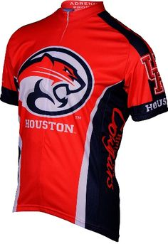 Adrenaline Promotions University of Houston Cougars Cycling Jersey  (University of Houston Cougars - XL) f686952e3