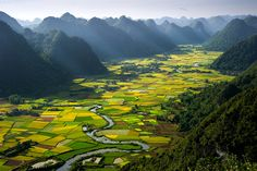 Morning in Valley © Hai Thinh