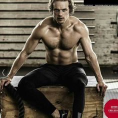 Outlander Sam Heughan for Health's Men SA Sam Heughan Outlander, Outlander Casting, Outlander Tv Series, Sam Hueghan, Sam And Cait, Actrices Blondes, Looks Party, Scottish Actors, British Actors