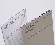 Office development brochure by Here Design, London