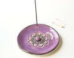 Mandala soporte de incienso quemador de incienso del por bemika